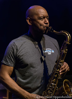 Branford Marsalis performing at the Warren Haynes Christmas Jam