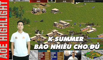 AoE Highlight | K Summer cũng mạnh nhưng Minoan trong tay Chim Sẻ là quá bá đạo