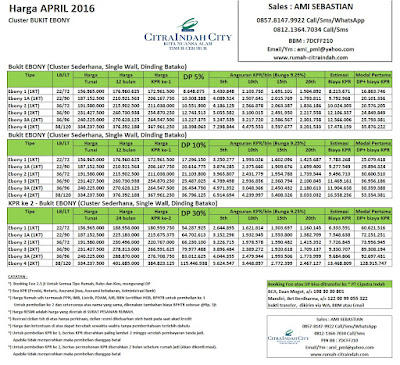 harga-bukit-ebony-citra-indah-city-april-2016