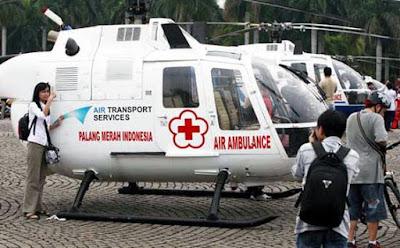 antisipasi korban mudik lebaran , PMI siapkan helikopter