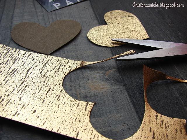 skórzane dodatki,szycie,papier,washpapa, złoty,złotol,gold,golden,dziurkacz,dekoracje,dom,domek