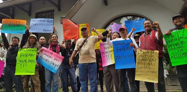 Aktivis ProDEM Gugat Indonesia Tak Lagi Berdaulat, 70% Tanah Tak lagi Dikuasai Negara
