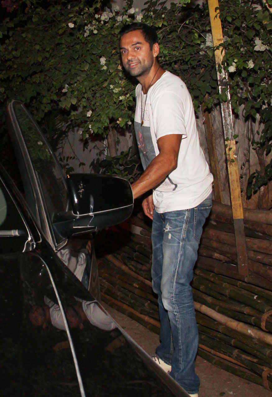 Abhay Deol at Olive In Khar West Mumbai