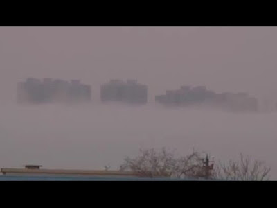 'Ghost city' appears above the sea in China