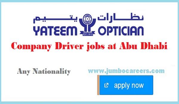 Latest transportation jobs in Abu Dhabi, New UAE jobs with salary,