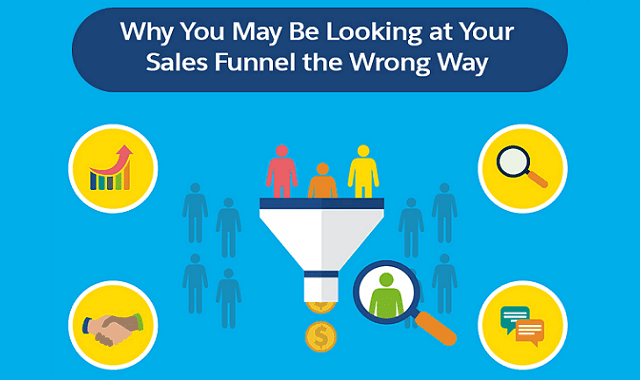 Why You May Be Looking at Your Sales Funnel the Wrong Way