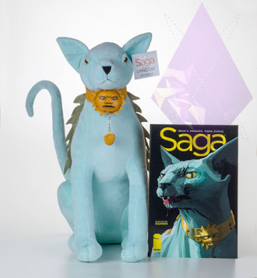 "Saga ""Lying Cat"" Talking Plush Figure"
