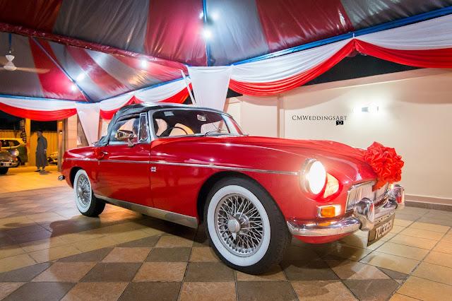 antique car for wedding in KL
