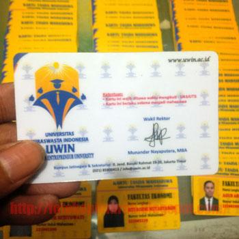 cetak id card satuan