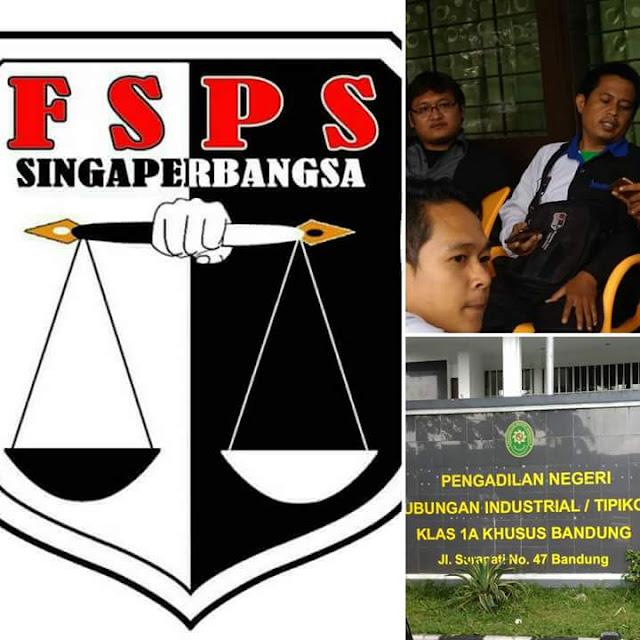Gugatan Anggota  SPA FSPS PT.ABB Karawang dikabulkan Seluruhnya