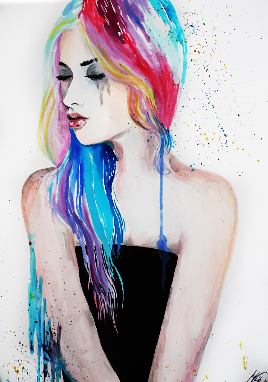 11-Andrea-Wéber-aka-Mandy-Candy-Paintings-A-Mirror-to-the-Artist-s-Emotions-www-designstack-co