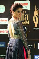 Raai Laxmi in Beautiful Backless Designer Anarkali Gown at IIFA Utsavam Awards 2017  Day 2  Exclusive 29.JPG