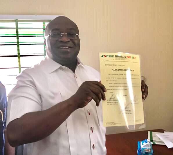 Abia 2019: PDP clears Ikpeazu