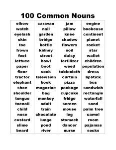 Descriptive Words: A Huge List of Descriptive Adjectives ... |Describing Nouns List