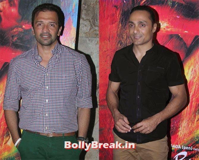 Atul Kasbekar, Rahul Bose,  Rang Rasiya Movie Premiere Photos