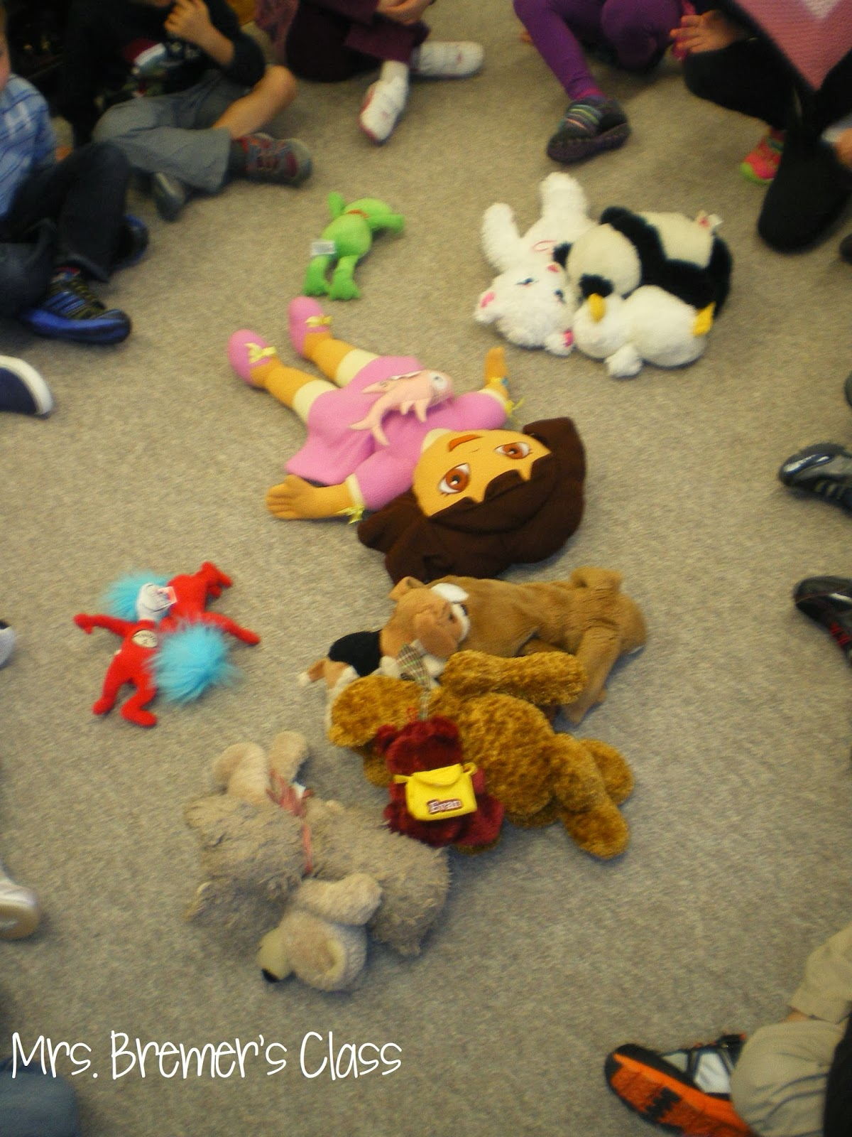 Mrs Bremer S Class Brown Bear Book Activities Color