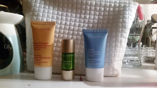 PRODUCT REVIEW - CLARINS SKINCARE | All That Jazz