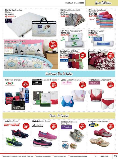 Katalog Promo CARREFOUR Terbaru Periode 11 - 24 April 2018