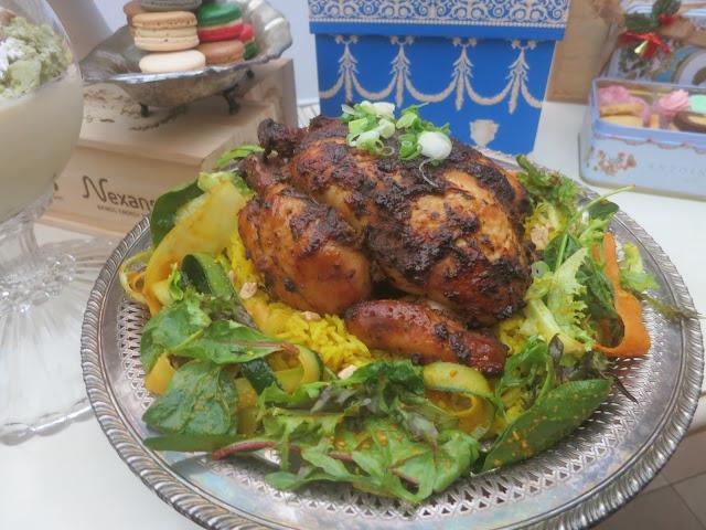 Laksa Roast Chicken