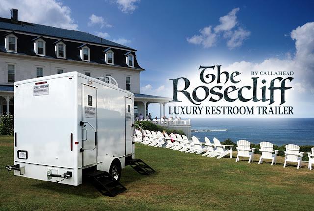 Rosecliff luxury restroom trailer