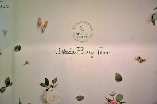 Entrée du Weleda Bioty Tour