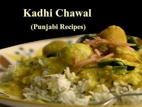 Kadhi Chawal Recipe In Hindi