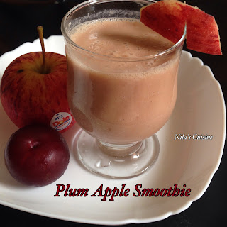 Plum Apple Smoothie