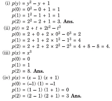 Polynomials - Class 9 CBSE Mathematics Guide | NCERT Solutions Math ...