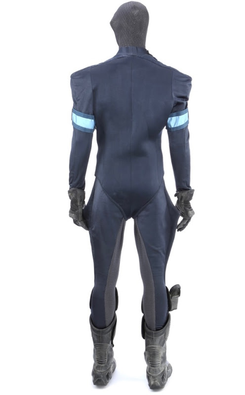 Star Trek Iowa police uniform back