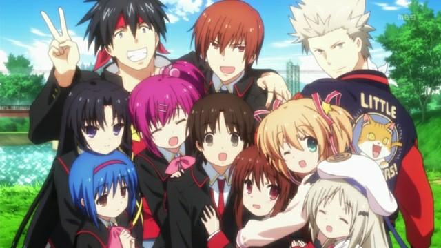 Review Anime Little Busters!  |  Merekrut Anggota Dan Menyelesaikan Masalahnya
