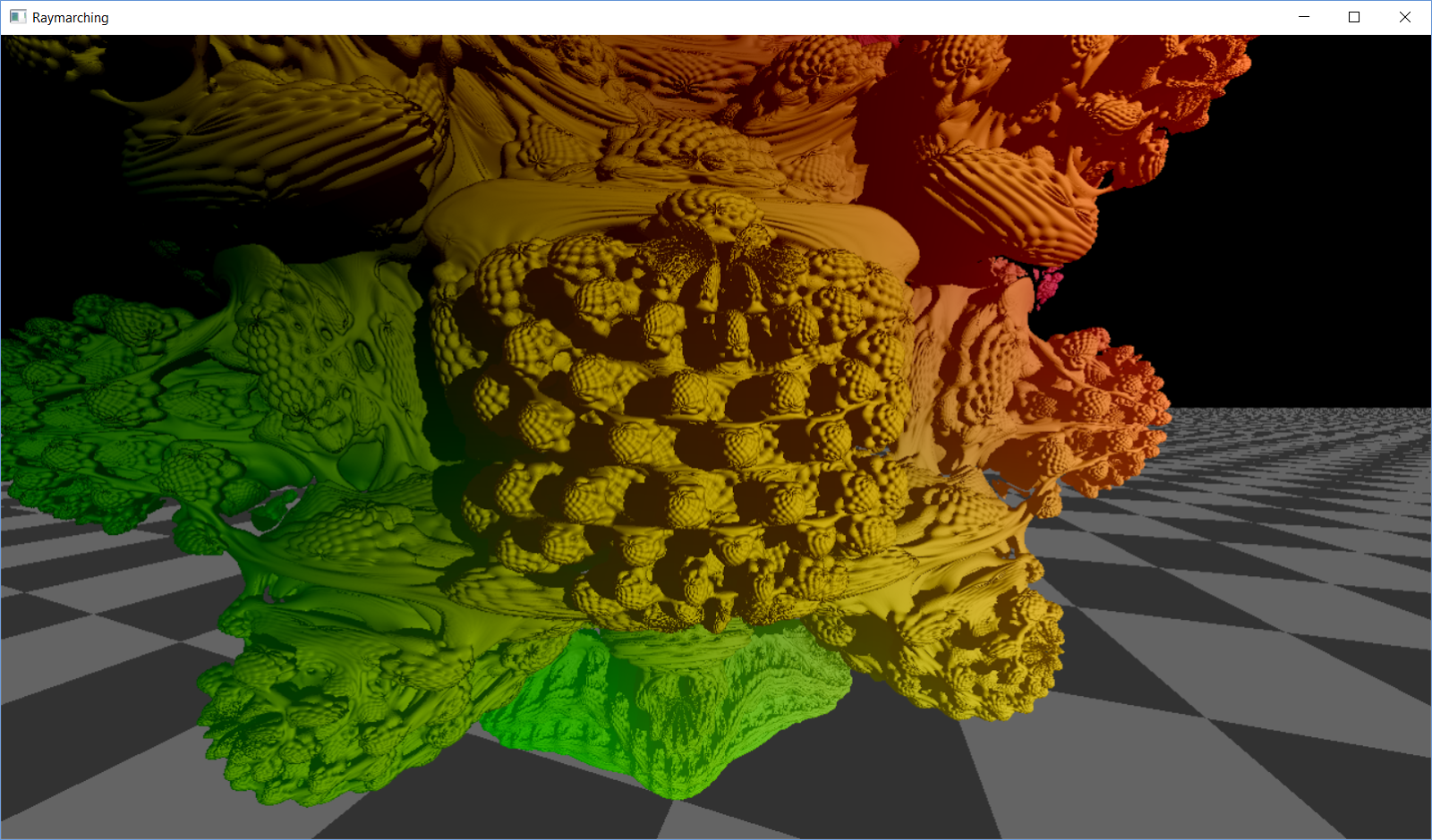 Realtime Raymarching Mandelbulb