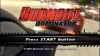 Game Burnout Dominator ISO PPSSPP Download