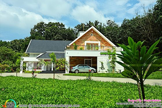 Excellent finished home in Kerala with 4 bedrooms