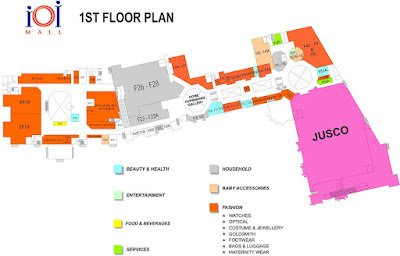 ioi mall puchong first floor