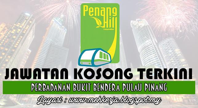Jawatan Kosong Terkini 2016 di Perbadanan Bukit Bendera Pulau Pinang