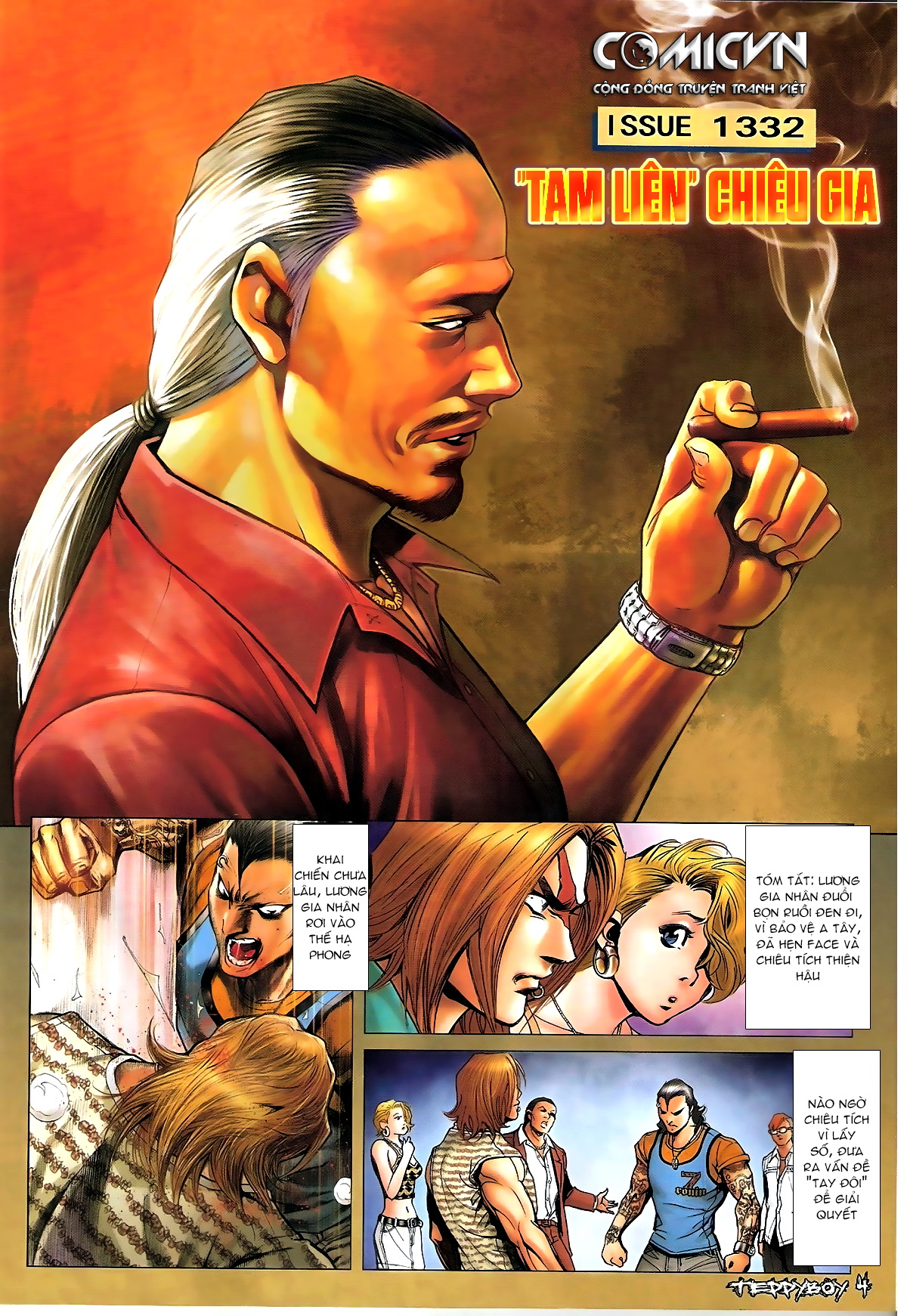 Người Trong Giang Hồ - Chapter 1332: Chiêu gia Tam Liên - Pic 2