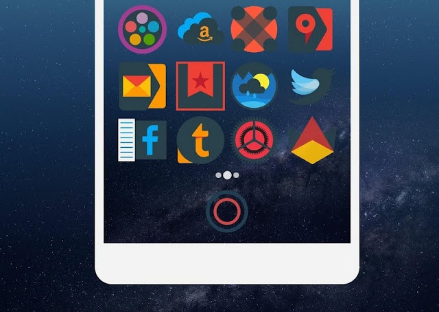 Mellow dark icon pack apk for android