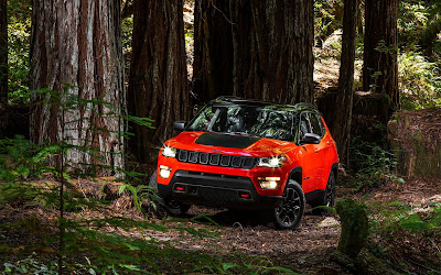 2017 jeep compass widescreen resolution hd wallpaper