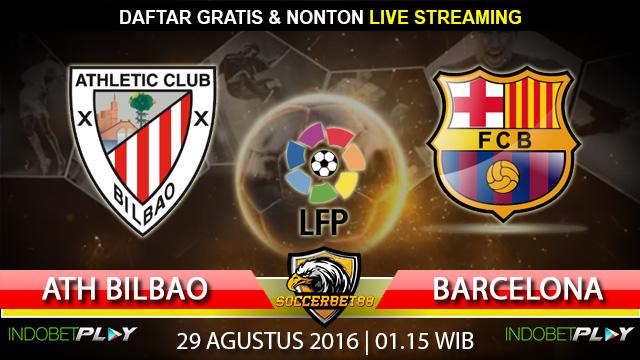Prediksi Athletic Bilbao vs Barcelona 29 Agustus 2016 (Liga Spanyol)
