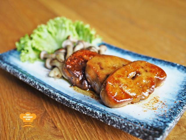 Teriyaki Foie Gras - Kimi-Ya Japanese Restaurant New Menu 2018 Old Klang Road Kuala Lumpur