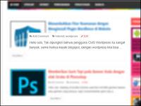 Menambahkan efek Focus dan OutFocus pada gambar di photoshop