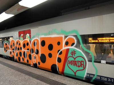 Mawda graffiti