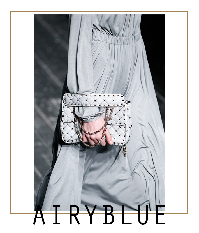 Airyblue #pantone #fall | mamayfashionista.blogspot.com