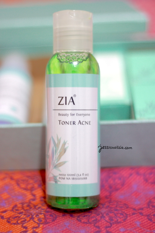 Zia Skin Care Acne Series review by Jessica Alicia