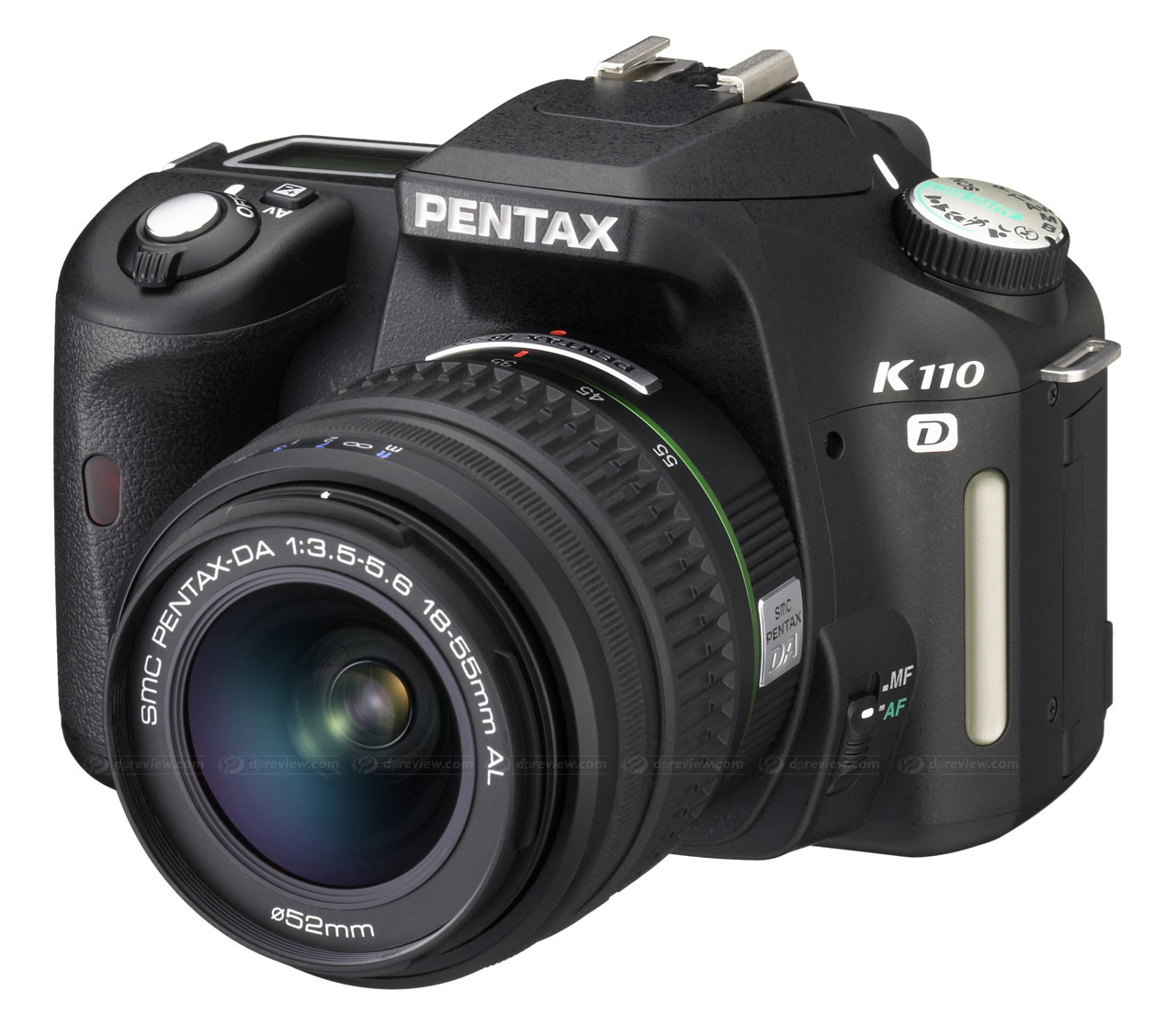 PENTAX K110D Firmware Version 1.01 and 1.02 Download