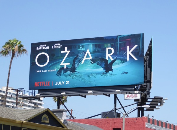 Ozark Netflix series billboard