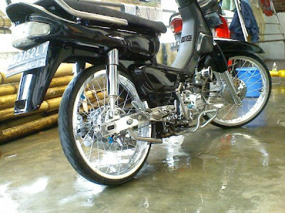 Modifikasi Motor Honda Grand