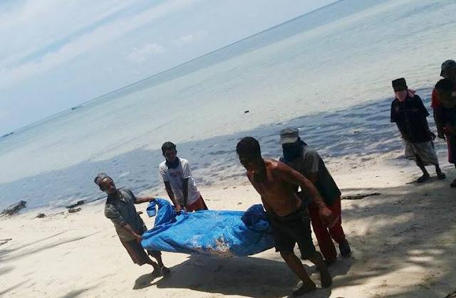 Mayat Yang Terdampar Di Pulau Polassi, Belum Diketahui Identitasnya