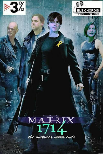 Matrix 1714, the matraca never ends, TV3%, Puigdemont, Forcadell, Rovira, Junqueras, els chordis productions,