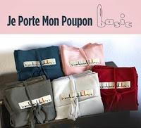 écharpe JPMPP Je porte mon poupon Basic bambin portage doudou peluche imitation maternage concours #juste1truc